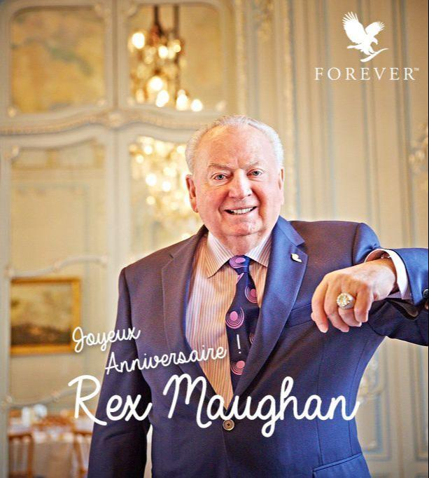 Forever Living Founder Rex Maughan